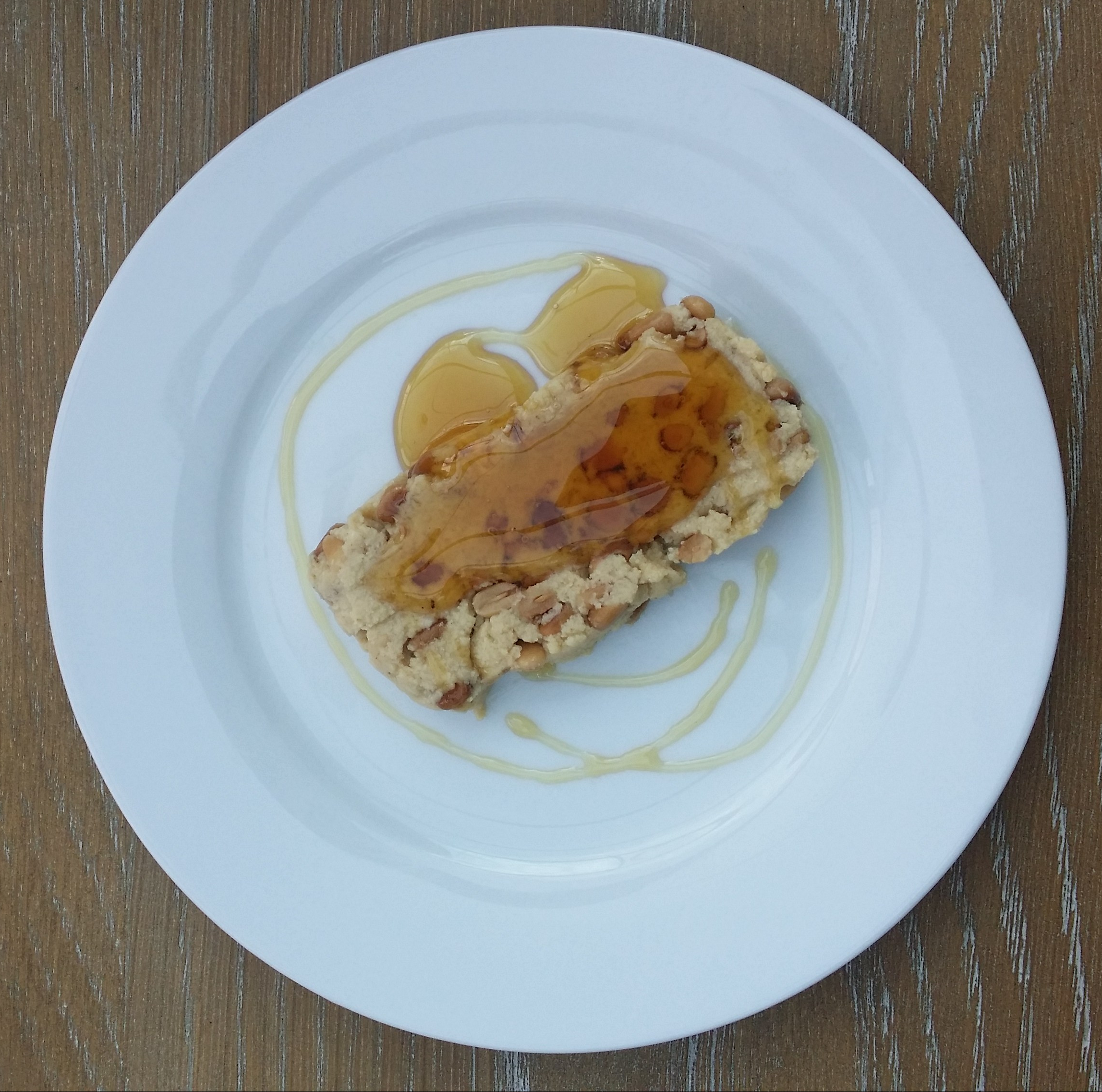 Pynnonade 2, chilled served with honey